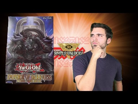 Best Yugioh Emperor of Darkness Structure Deck Opening and Review! Monarchs Demand Tribute!!