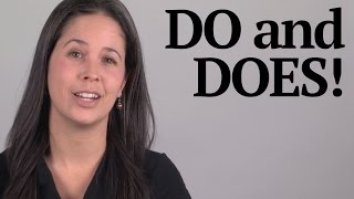 DO and DOES Reduction -- American English Pronunciation