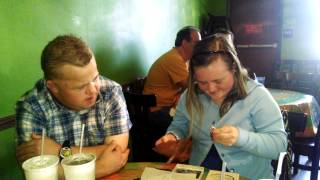 Down Syndrome Couple in Love