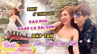PINKY VÀ TRUNG HUY HẸN HÒ ĐẬP TAN TIN ĐỒN RẠN NỨT   Xe Bus Mui Trần Đi Hết Sài Gòn