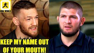 Conor McGregor reacts to Khabib's remark on COVID GOOD FATHER EVIL Tweet,Ciryl Gane on Lewis,UFC 265