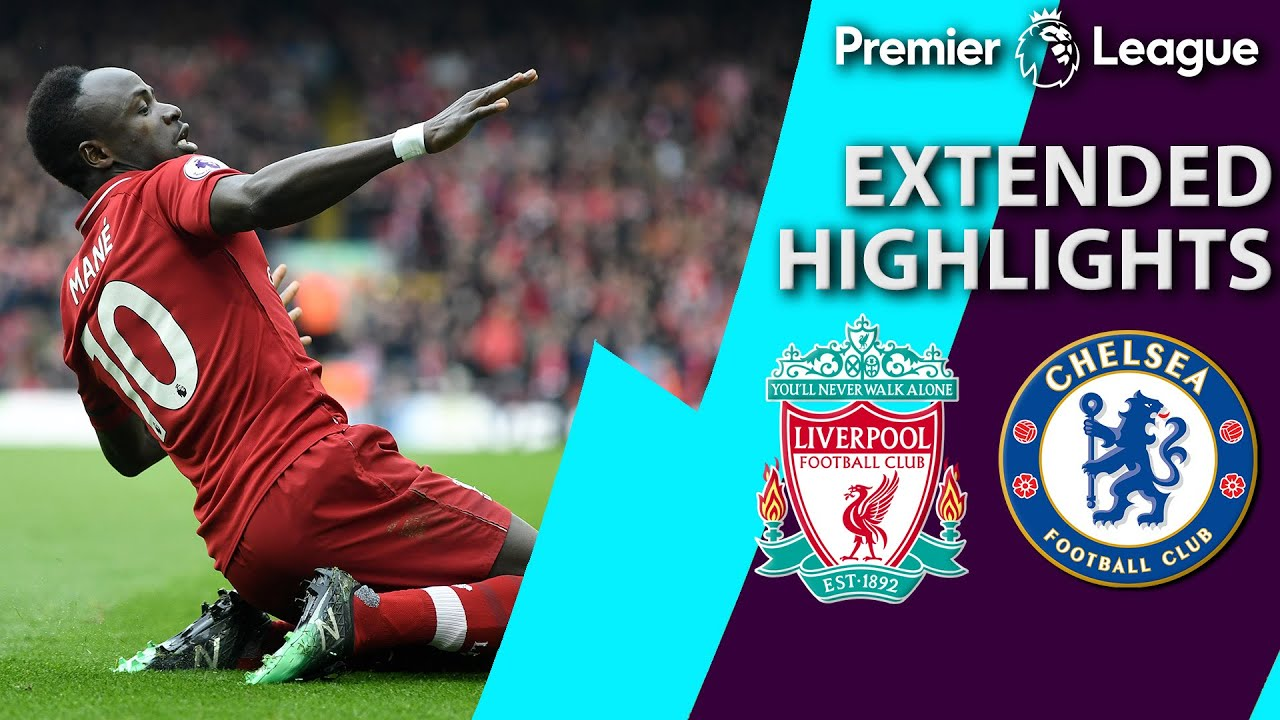 Liverpool v. Chelsea | PREMIER LEAGUE EXTENDED HIGHLIGHTS | 4/14/19 | NBC Sports Screenshot Download