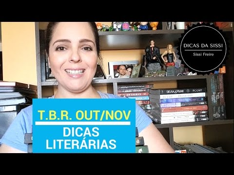 Dicas Literárias - TBR Out/Nov