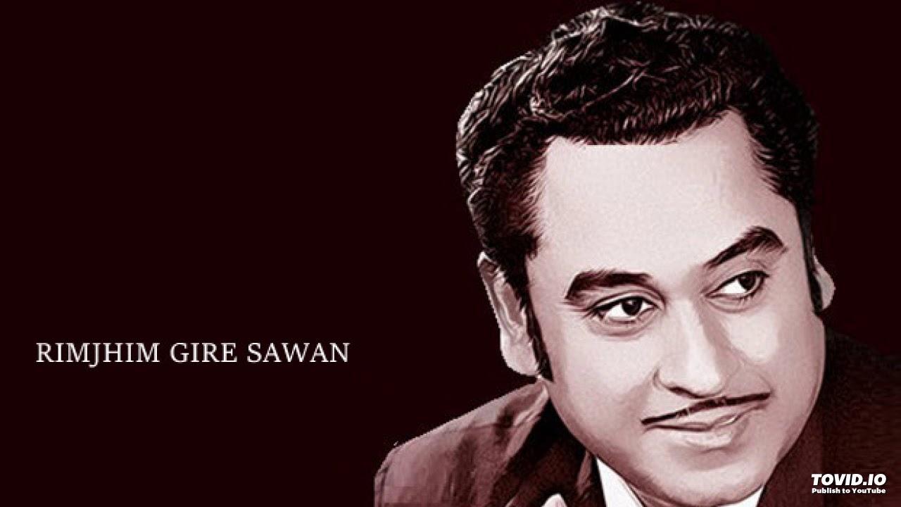 Rim Jhim Gire Sawan Lyrics English – Kishore Kumar