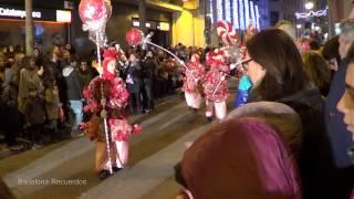 preview picture of video 'Cabalgata de Reyes 2013 en Badalona'