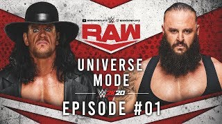 """Two Championship Matches"" WWE 2k20 Universe Mode: #01 (""WWE 2k20 Universe Mode"")"
