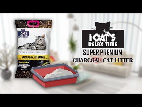 Icat's Super Premium Charcoal Cat Litter