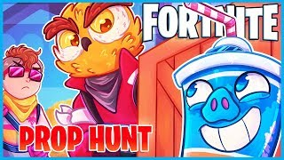 No one can find me in Fortnite Prop Hunt...