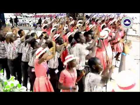 REGION 12 TEENS MASS CHOIR MINISTRATION RCCG CONVENTION 2017  - HALLELUJAH