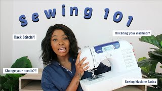 SEWING 101 | A Beginners Guide On How To Use A Sewing Machine