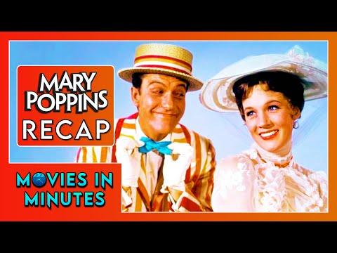 Mary Poppins in 4 minutes (Movie Recap)