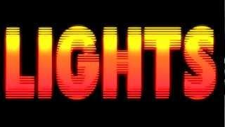 Lights By Ellie Goulding [Lyric Video]