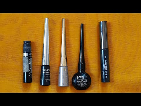 Top 5 affordable bridal makeup  eyeliner in india | waterproof eyeliner for brides |