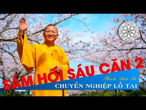 Sám Hối Sáu Căn 02: Chuyển nghiệp lỗ tai (07/10/2010) Thích Nhật Từ