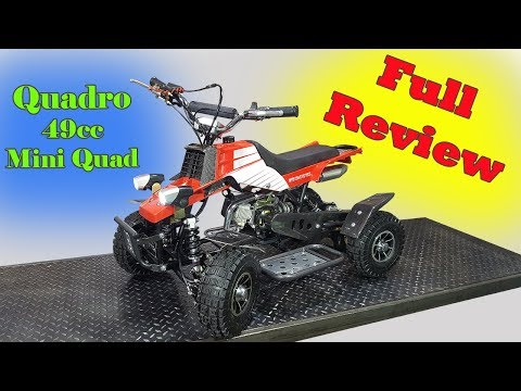 Quadro 49cc - FULL REVIEW