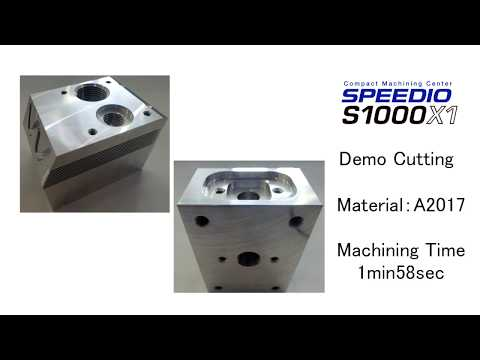 S1000X1 Multiple parts Machining example