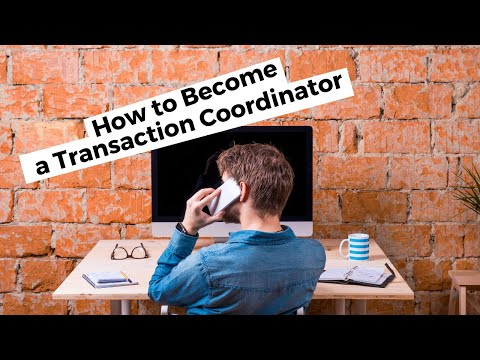 How to Become a Transaction Coordinator - YouTube