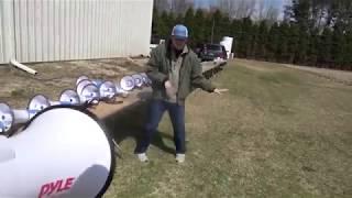 Mr Beast megaphone Chris dance meme