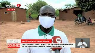 Insólito na Lunda-Norte: Pastor metodista diz ter recebido mensagem de evangelização