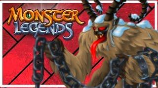 Monster Legends - LEGENDARY MONSTER LEVEL UP! - Part 2 (First Dungeon Battle!)