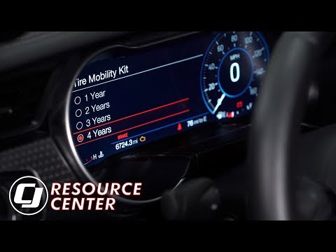 Quick Fix for the Service Tire Mobility Kit Light on 2018 Mustangs with a Digital Instrument Cluster