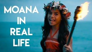 """Moana in Real Life - """"How Far I'll Go"""""""