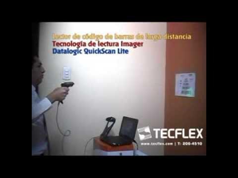 TECFLEX - Lectura imager a larga distancia - Datalogic Quickscan Lite QW2100