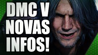 """NOME DO """"V"""" E MAIS NOVIDADES DE DEVIL MAY CRY 5"""