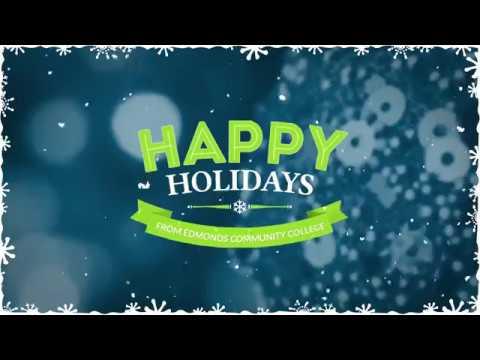 2017 Edmonds Community College Holiday Video