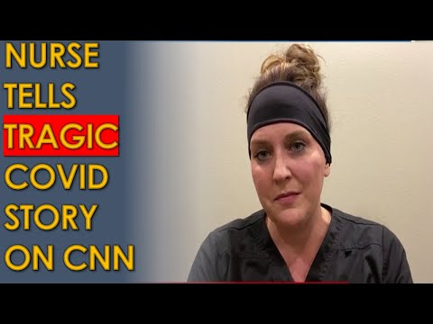 South Dakota Nurse Jodi Doering's TRAGIC COVID story on CNN: Patients REFUSE to believe it's real