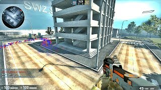 CS:GO - Zombie Survival Mod gameplay on Lila Hacker Meow map - Infection Club