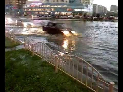 Затопило Сургут (2009, Россия, ХМАО)