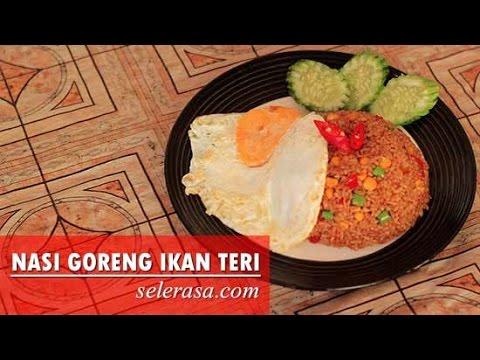 Video Resep Dan Cara Membuat Nasi Goreng Ikan Asin Teri (Indonesia Recipe)