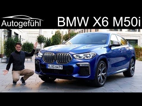 all-new BMW X6 M50i FULL REVIEW - Autogefühl