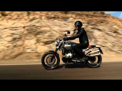 BMW R nineT Scrambler Modelljahr 2016 Motor Sound Riding