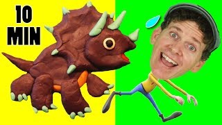 Dinosaur Songs | Kids Songs Compilation with Matt | Learn English Preschool
