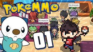PokeMMO Episode 1 - Pokémon ONLINE Game!
