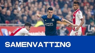 HIGHLIGHTS | Ajax - PSV (lange Versie)