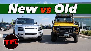 Old Vs New - Is The New 2020 Land Rover Defender Worthy Of Its Iconic Name?