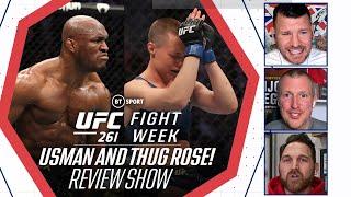 Chương trình đánh giá UFC 261: Kamaru Usman và Rose Namajunas thống trị tối cao! | BT Sport Fight Week