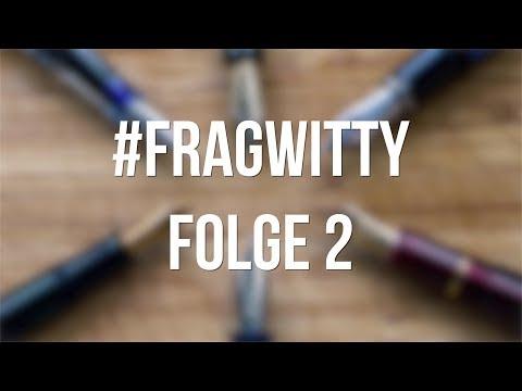 Kullis und Tintenroller, Montblanc & Kolbenfüller - #FragWitty Folge 2