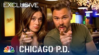 Chicago PD | Lie Detector Test with Patrick John Flueger and Marina Squerciati