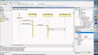 Sequence diagram for beginner in rational rose for login form star uml sequence diagram design model with documents in description ccuart Choice Image