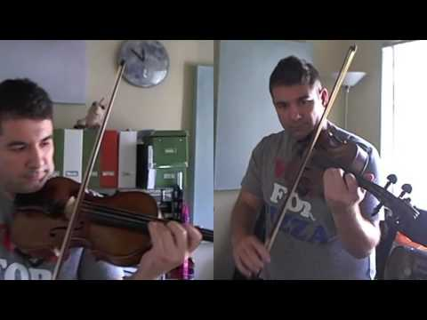 Playing Vivaldi's Concerto for 2 violins in A minor