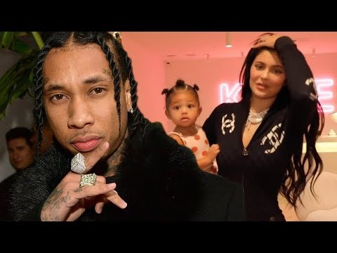 """Tyga REACTS To Kylie Jenner's """"Rise & Shine"""" Sing Along To Baby Stormi!"""