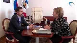 Елена Писарева встретилась с новым секретарем регионального отделения «Единой России» Михаилом Галаховым