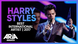 Harry Styles wins Best International Artist   2017 ARIA Awards
