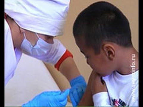 Курянам делают прививки от гриппа