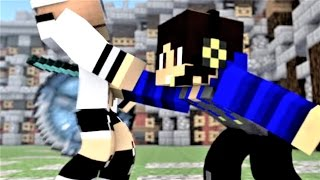 "Minecraft Song and Minecraft Animation ""We Be Teaming"" Castle Raid 2 - Top Minecraft Songs"