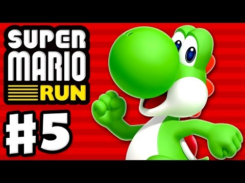 Super Mario Run Walkthrough - Part 1 - World 1, Toad Rally, and